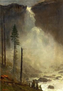 Albert Bierstadt - Nevada Falls, vers 1873