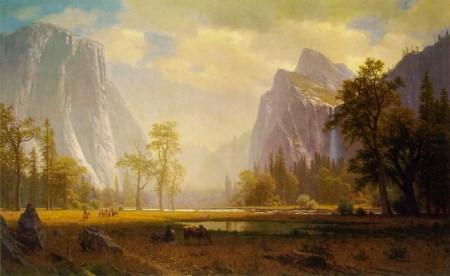 Albert Bierstadt - Yosemite Valley, 1866