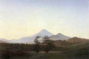 Caspar David Friedrich - Campagne de Bohème, 1810