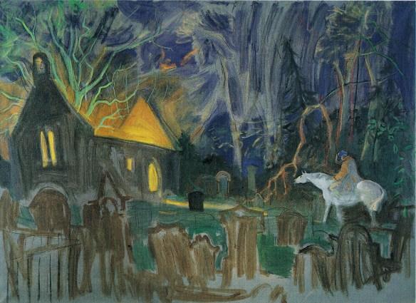 Alexander Goudie - illustration du poème Tom o'Shanter de Robert Burns - 5