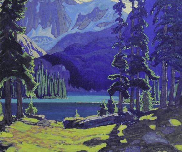 J. E. H. MacDonaldD - The lake O'Hara