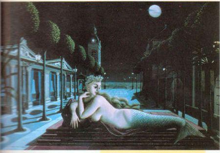 Magritte - Sirène au clair de lune