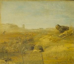 Paulus Potter - la punition du chasseur, scène 3
