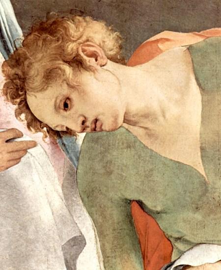 Pontormo - la Déposition (détail), 1526-28