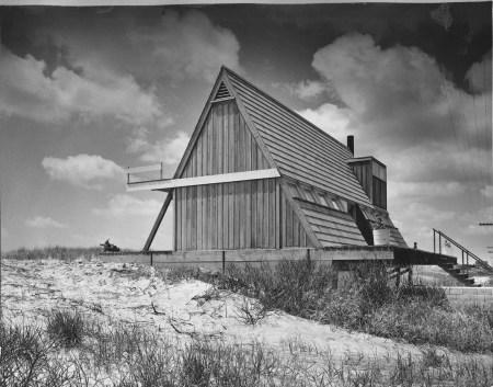Andrew Geller - Reese House à Saganopack, l'un des murs pignons, 1957