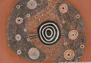 L'art aborigène est partie intégrante du Temps du Rêve