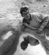 Jean Marais dans l'Orphée de Jean Cocteau, en 1950