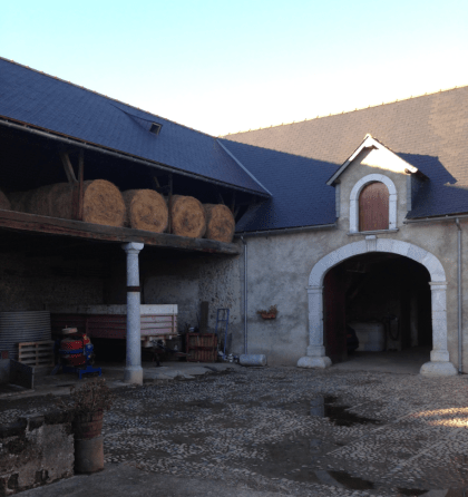 Village d'Ibos  –Paré pour l'hiver