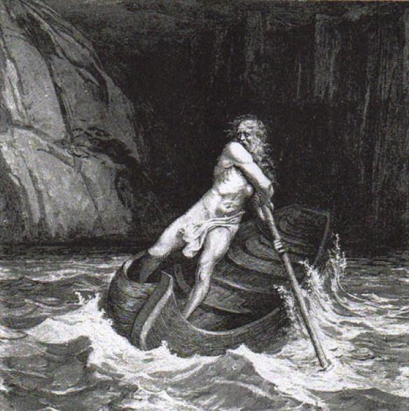 Gustave Doré - la barque de Charon