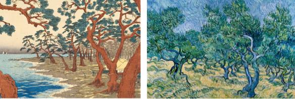 Hiroshige et Van Gogh