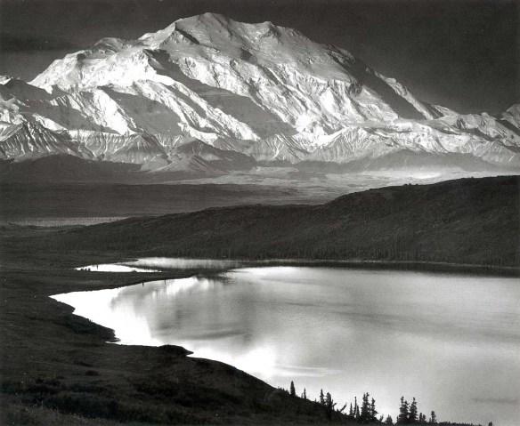 abbemar_1413934781_Ansel Adams, Mount McKinley and Wonder Lake