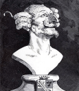 Buste du baron de Münchhausen