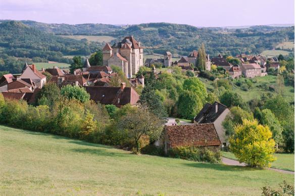 Curemonte en Corrèze - crédit photo J.F. Amelot