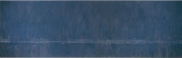 Cy Twombly, Treatise on the Veil (Second Version), 1970, Oil-based house paint and wax crayon on canva,