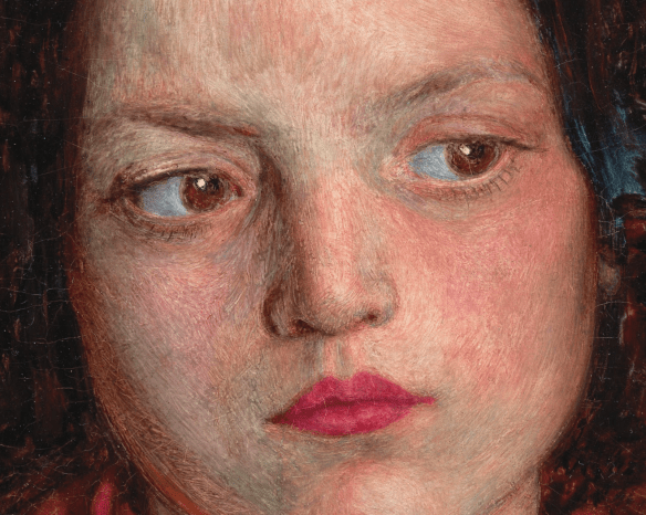 Ford Madox Brown - The Irizh Girl, 1860 (détail).png