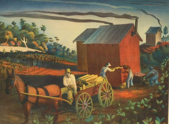 Buelle Whitehead - Tobacco Barns