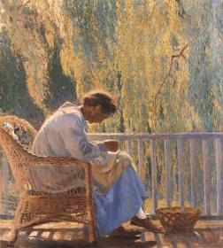 Mending, 1918
