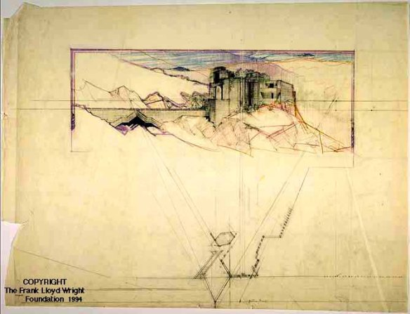 San Marcos in the Desert - Frank Lloyd