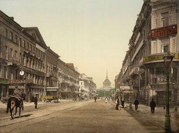 SPB_Nevsky_Prospekt_and_Admiralty_1890-1900