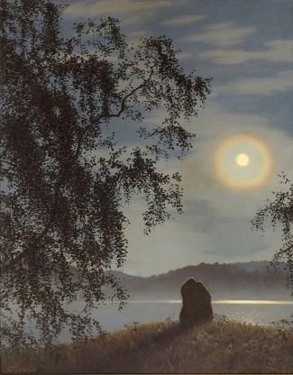 Gustaf Fjæstad - Moonlight over the Racken