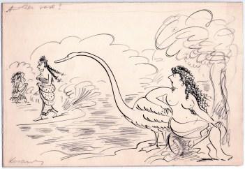 Kovarsky sketch_Leda and the swan.jpg