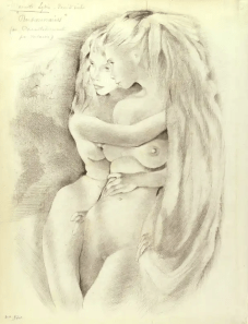 Mariette Lydis - Pensionnaires, 1920 (Parrallèlement par Verlaine)