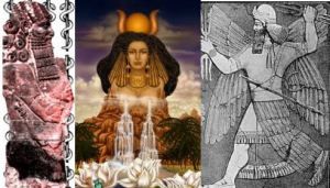 Enki, Ninmah & Enlil--Chief Scientist, Chief Medical Officer & Commander, Goldming Expedition from planet Nibiru to Earth 430,000 years ago