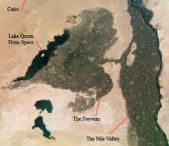 Fayum Map
