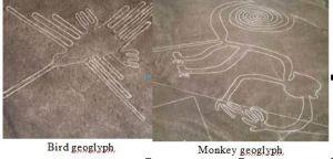 Nazca geoglyphcollage