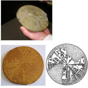 Sumerian Space Maps