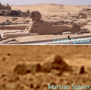 1 sphinxes mars and giza