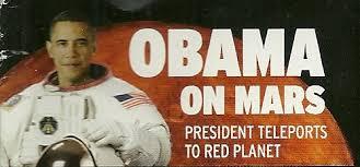 Obama on Mars
