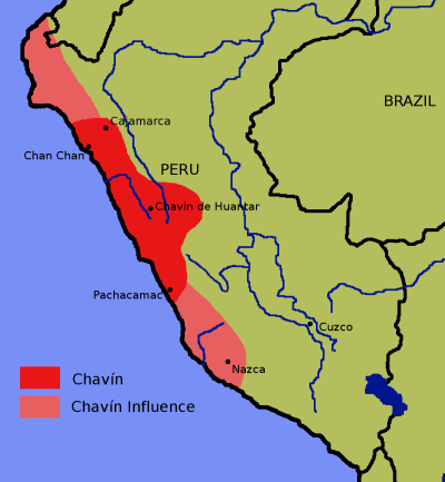 Chavin map
