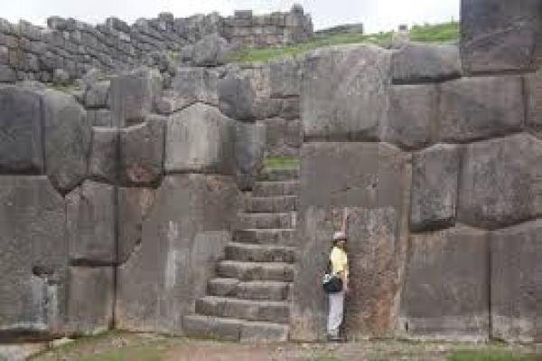 megalithic walls at Cuzco
