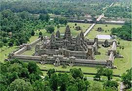 Preah cut and poured stone for Angkor Wat.