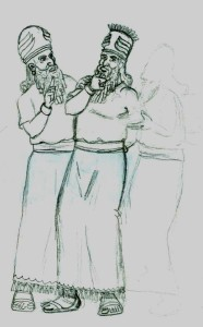 Enlil, the Heir, lobbied King Anu to send him to Earth to check on brother Enki.