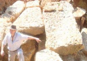 Bosnia, poured cement for pyramids