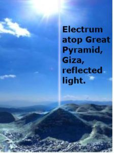 Giza electrum beam