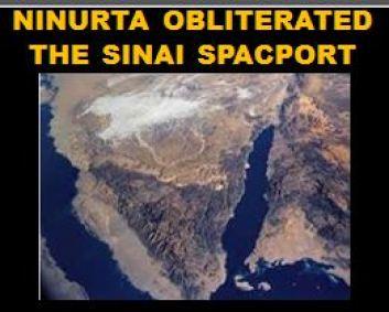Ninurta killed the spaceport
