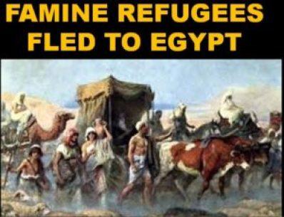 Refugees to Joe's Egypt