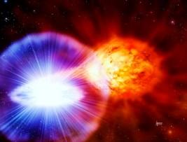 White Dwarf exploding