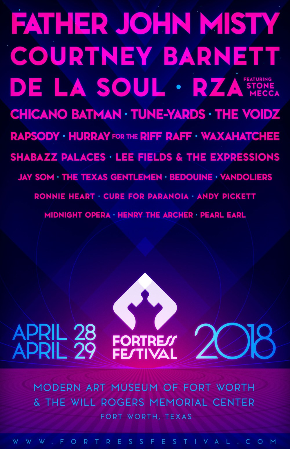 Fortress Festival 2018 - Full Music Lineup