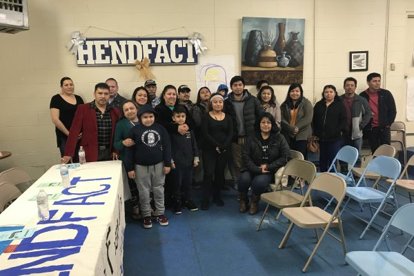 alerta comunitaria en Hendfact