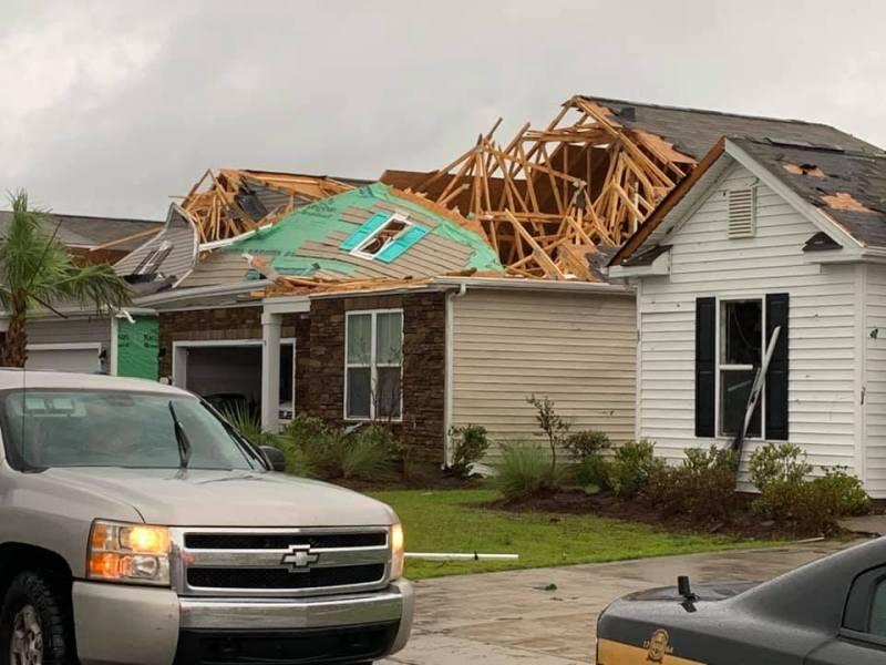 Provocando daños huracán Dorian se acerca a las costas de Carolina del Norte