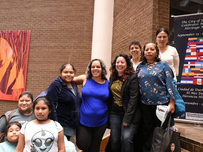 Javiera Caballero primera concejal latina en Durham