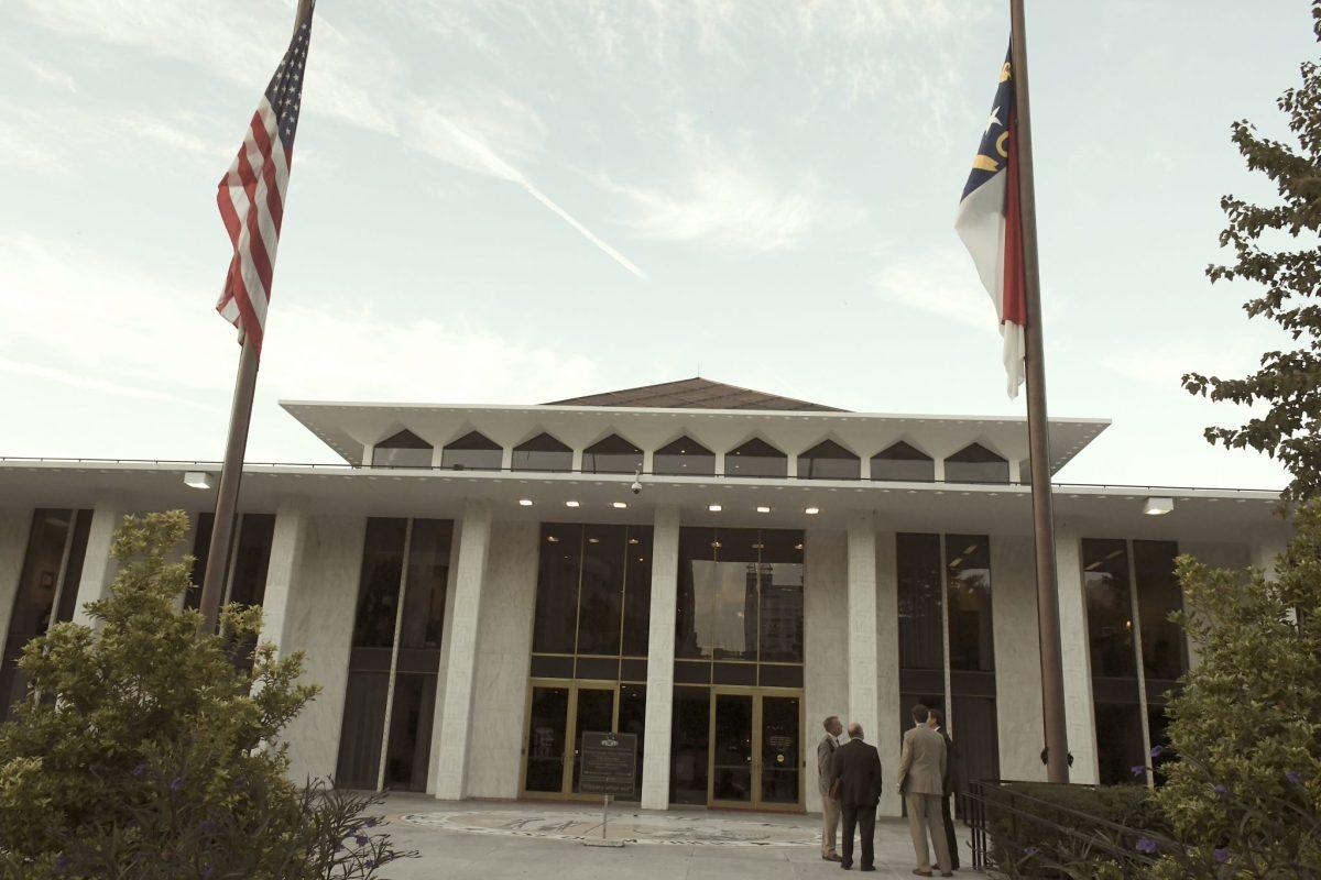 Sesión legislativa Carolina del Norte