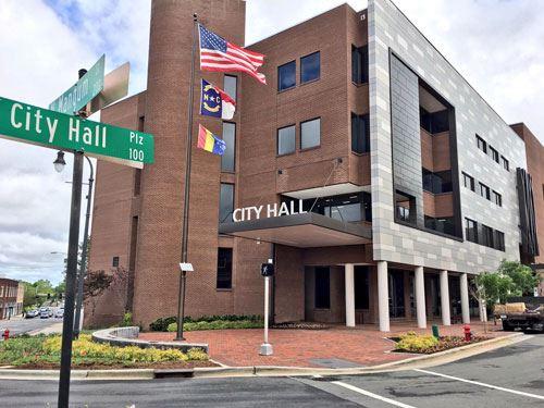 ayuntamientos de Carolina del Norte