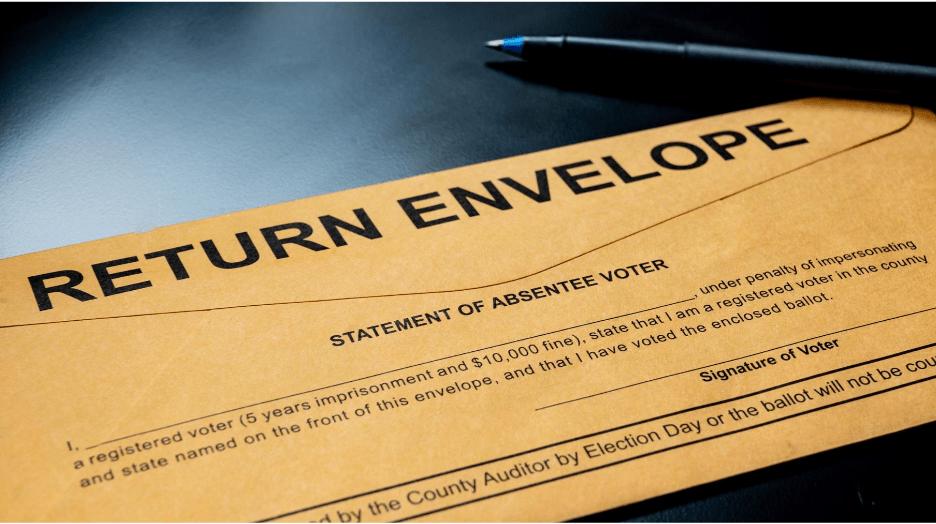 Solicitudes de voto en ausencia en Carolina del Norte