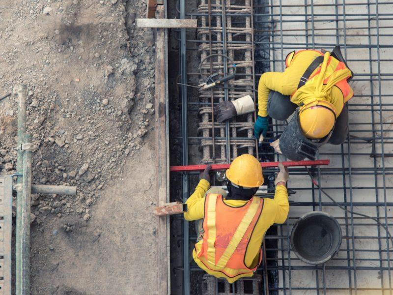 Prevención de contagios en la construcción