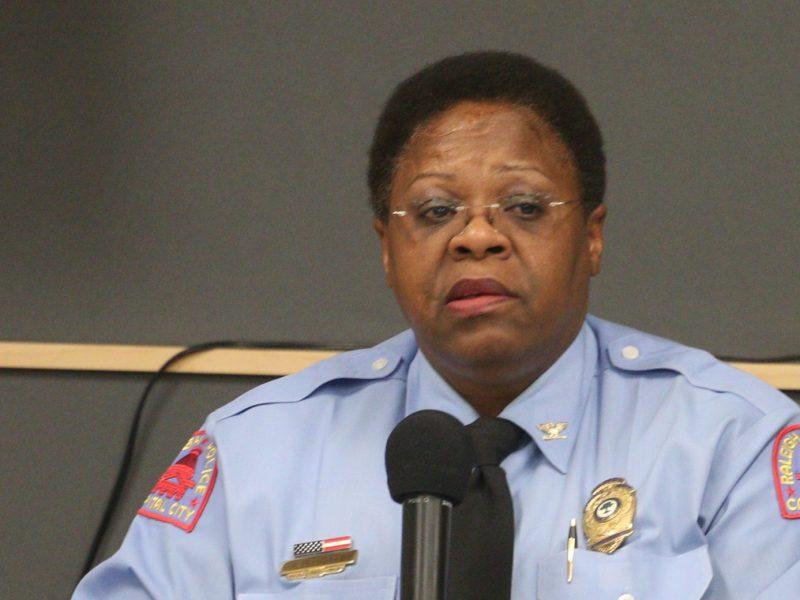 Jefa de Policía de Raleigh se retira